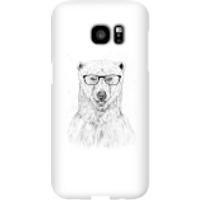 Balazs Solti Polar Bear And Glasses Phone Case for iPhone and Android - Samsung S7 Edge - Snap Case