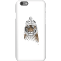 Balazs Solti Winter Tiger Phone Case for iPhone and Android - iPhone 6S - Snap Case - Gloss