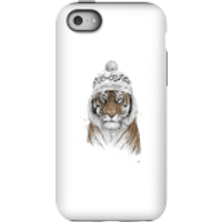 Balazs Solti Winter Tiger Phone Case for iPhone and Android - iPhone 5C - Tough Case - Gloss - Tiger Gifts