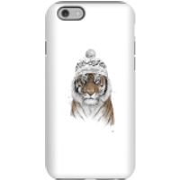 Balazs Solti Winter Tiger Phone Case for iPhone and Android - iPhone 6 - Tough Case - Gloss - Tiger Gifts