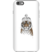 Balazs Solti Winter Tiger Phone Case for iPhone and Android - iPhone 6 Plus - Tough Case - Gloss - Tiger Gifts