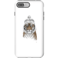 Balazs Solti Winter Tiger Phone Case for iPhone and Android - iPhone 7 Plus - Tough Case - Gloss - Tiger Gifts