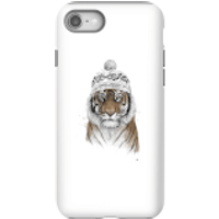 Balazs Solti Winter Tiger Phone Case for iPhone and Android - iPhone 8 - Tough Case - Gloss - Tiger Gifts