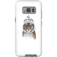 Balazs Solti Winter Tiger Phone Case for iPhone and Android - Samsung S8 - Tough Case - Gloss - Tiger Gifts