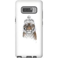 Balazs Solti Winter Tiger Phone Case for iPhone and Android - Samsung Note 8 - Tough Case - Gloss - Tiger Gifts