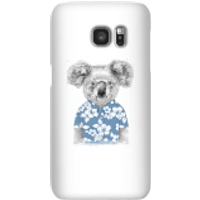 Balazs Solti Koala Bear Phone Case for iPhone and Android - Samsung S7 - Snap Case - Gloss - Bear Gifts