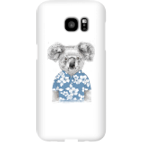 Balazs Solti Koala Bear Phone Case for iPhone and Android - Samsung S7 Edge - Snap Case - Gloss - Bear Gifts
