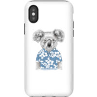 Balazs Solti Koala Bear Phone Case for iPhone and Android - iPhone X - Tough Case - Gloss - Bear Gifts