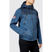 Superdry Men's Mountain Zip Hood Jacket - Indigo Navy Marl - XL - Navy