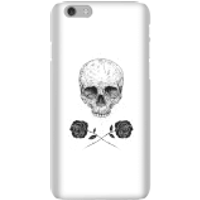 Balazs Solti Skull And Roses Phone Case for iPhone and Android - iPhone 6 - Snap Case - Matte - Roses Gifts