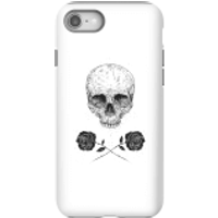 Balazs Solti Skull And Roses Phone Case for iPhone and Android - iPhone 8 - Tough Case - Gloss