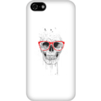 Balazs Solti Skull And Glasses Phone Case for iPhone and Android - iPhone 5C - Snap Case - Matte