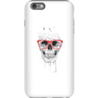 Balazs Solti Skull And Glasses Phone Case for iPhone and Android - iPhone 6 Plus - Tough Case - Matt