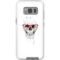 Balazs Solti Skull And Glasses Phone Case for iPhone and Android - Samsung S8 - Tough Case - Matte