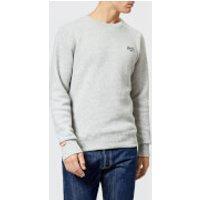 Superdry Men's Orange Label Crew Neck Sweatshirt - Anchor Grey Grit - M - Grey