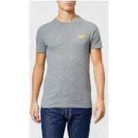 Superdry Men's Orange Label Small Logo T-Shirt - Hyper Nep Grey - M - Grey