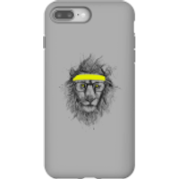 Balazs Solti Lion And Sweatband Phone Case for iPhone and Android - iPhone 8 Plus - Tough Case - Gloss - Lion Gifts