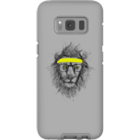 Balazs Solti Lion And Sweatband Phone Case for iPhone and Android - Samsung S8 - Tough Case - Gloss - Lion Gifts