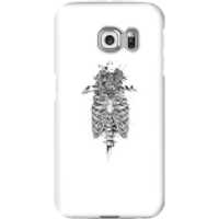 Balazs Solti Skulls And Flowers Phone Case for iPhone and Android - Samsung S6 Edge Plus - Snap Case - Matte - Flowers Gifts