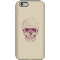 Balazs Solti Skull Phone Case for iPhone and Android - iPhone 6S - Tough Case - Gloss - Skull Gifts