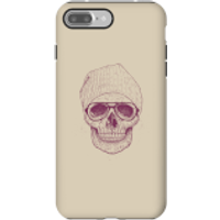 Balazs Solti Skull Phone Case for iPhone and Android - iPhone 7 Plus - Tough Case - Gloss - Skull Gifts