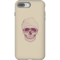 Balazs Solti Skull Phone Case for iPhone and Android - iPhone 8 Plus - Tough Case - Gloss - Skull Gifts