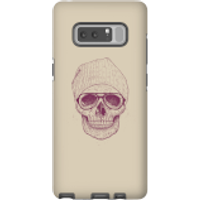 Balazs Solti Skull Phone Case for iPhone and Android - Samsung Note 8 - Tough Case - Gloss - Skull Gifts
