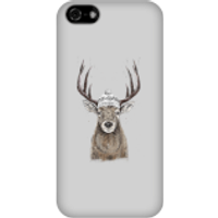 Winter Deer Phone Case for iPhone and Android - iPhone 5C - Snap Case - Matte - Phone Case Gifts