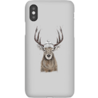 Winter Deer Phone Case for iPhone and Android - iPhone X - Snap Case - Matte - Phone Case Gifts