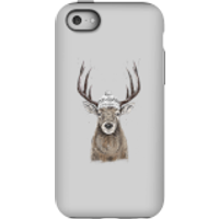Winter Deer Phone Case for iPhone and Android - iPhone 5C - Tough Case - Matte - Phone Case Gifts