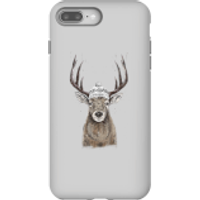 Winter Deer Phone Case for iPhone and Android - iPhone 8 Plus - Tough Case - Matte - Phone Case Gifts
