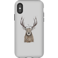 Winter Deer Phone Case for iPhone and Android - iPhone X - Tough Case - Matte - Phone Case Gifts