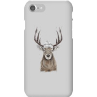 Winter Deer Phone Case for iPhone and Android - iPhone 7 - Snap Case - Gloss - Phone Case Gifts