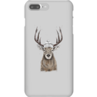 Winter Deer Phone Case for iPhone and Android - iPhone 7 Plus - Snap Case - Gloss - Phone Case Gifts