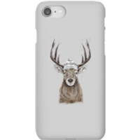 Winter Deer Phone Case for iPhone and Android - iPhone 8 - Snap Case - Gloss - Phone Case Gifts