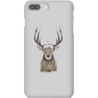 Winter Deer Phone Case for iPhone and Android - iPhone 8 Plus - Snap Case - Gloss - Phone Case Gifts
