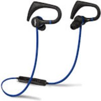 Veho ZB1 Sports Hook Bluetooth Wireless Earphones - Black/Blue
