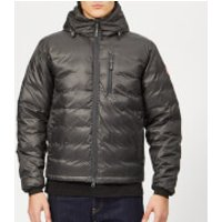 Canada-Goose-Mens-Lodge-Hooded-Jacket-GraphiteBlack-S-Black