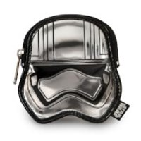 Loungefly Star Wars Captain Phasma Silver Metallic Embossed Coin Bag - Silver Gifts