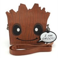 Loungefly Marvel Guardians of the Galaxy Groot Die Cut Cross Body Bag - Guardians Of The Galaxy Gifts