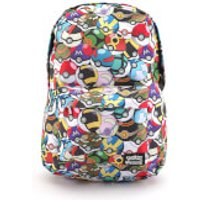 Loungefly Pokemon Multi Pokeball AOP Backpack