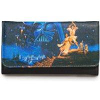 Loungefly Star Wars Luke, Leia Photo Real Wallet