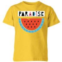 My Little Rascal Paradise Kids' T-Shirt - Yellow - 11-12 Years - Yellow - Yellow Gifts