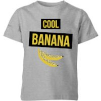 My Little Rascal Cool Banana Kids' T-Shirt - Grey - 11-12 Years - Grey - Grey Gifts
