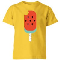 My Little Rascal Watermelon Lolly Kids' T-Shirt - Yellow - 11-12 Years - Yellow - Clothing Gifts