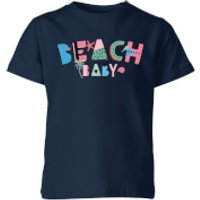 My Little Rascal Beach Baby Kids' T-Shirt - Navy - 3-4 Years - Navy - Beach Gifts