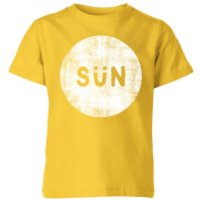 My Little Rascal Sun Kids' T-Shirt - Yellow - 11-12 Years - Yellow - Sun Gifts