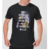 Avengers The Strongest Will Men's T-Shirt - Black - XXL - Black