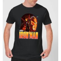 Avengers Iron Man Men's T-Shirt - Black - XXL - Black