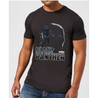 Avengers Black Panther Men's T-Shirt - Black - M - Black